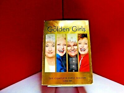 The Golden Girls Complete First Season (DVD, 2004, 3-Disc Set) - Free Shipping
