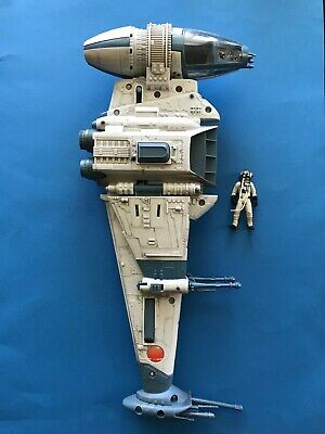 Hasbro Star Wars Power of the Jedi POTJ B-Wing Vehicle with pilot