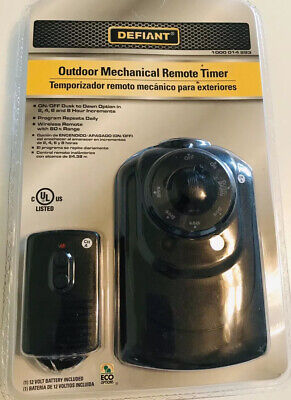 NIP Defiant Outdoor Mechanical Remote Timer