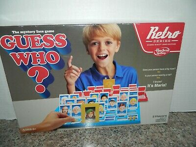 2015 GUESS WHO? RETRO SERIES Game *** Mystery Face Game