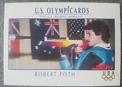 US Olymp Cards Robert Foth OS 1992 Nr. 62 Trading Card
