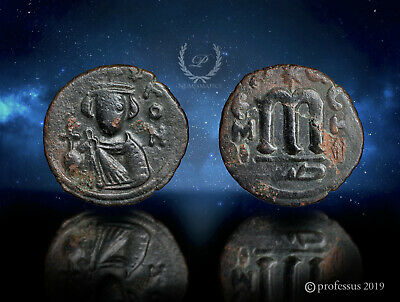 RRR Transitional Arab Byzantine Umayyad All Greek Hims Emesa Fals -Constans Bust