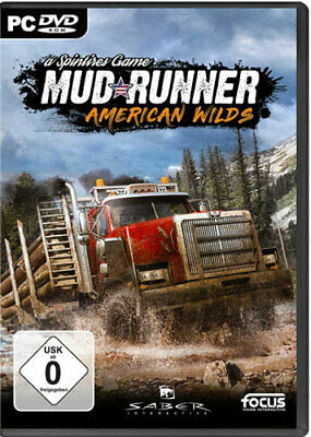 Spintires: MudRunner American Wilds - PC / PS4 / Switch / XBOX ONE - *NEU*