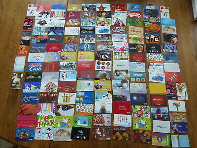 300 Collectible No Value Target Star Wars Food Christmas Nike OLD GIFT CARD Lot
