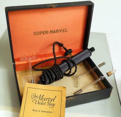 Super Marvel Violet Ray Quack Medical Device UV Wand