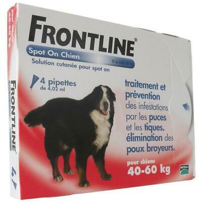 FRONTLINE Spot On chien 40-60kg - 4 pipettes
