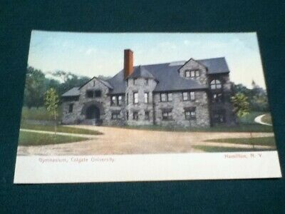 Vintage Postcard 110 years old. Gymnasium, Colgate University. Hamilton,N.Y.