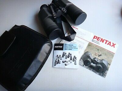 MADE IN JAPAN PENTAX 10 X 50 BINOCULARS - Perfect condition, no marks