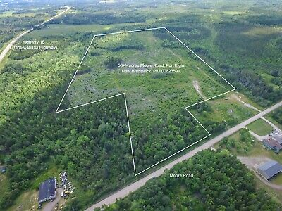 58 ACRES For Sale in Southeastern New Brunswick - Village of Port Elgin