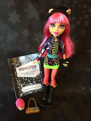 Monster High 13 Wishes Signature Howleen Wolf With Diary & Accessories