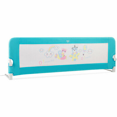 69'' Breathable Baby Toddler Bed Rail Guard for Children Sleeping Safety, Blue