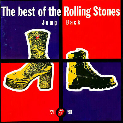 The Rolling Stones ‎CD Jump Back (The Best Of The Rolling Stones '71 - '93)