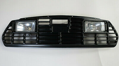 NOS Classic Rover Mini Grille with extra lights
