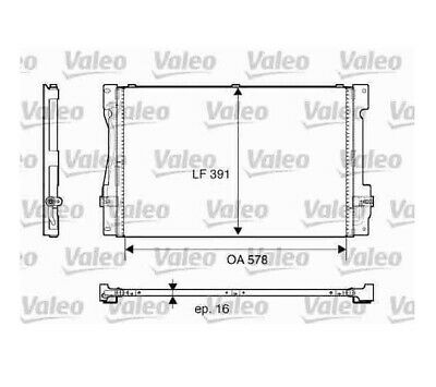 Valeo Condenser AIR CON For Volvo 850, 817675