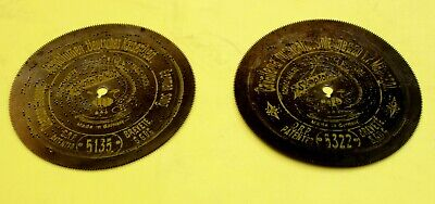 Symphonion 5 3/4 in. (14,c cms) Discs early 20th c., 13 discs in good conditio