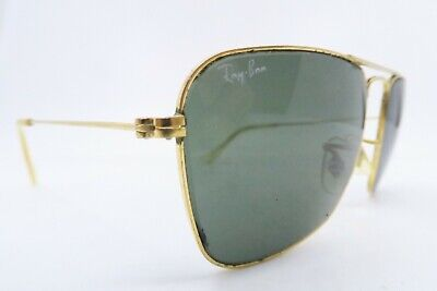 Vintage B&L Ray Ban Caravan sunglasses size 52-14 etched BL made in the USA