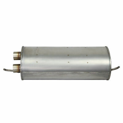 1pc SS Quiet-Flow Muffler Exhaust For Buick Chevy Olds Pontiac Saturn