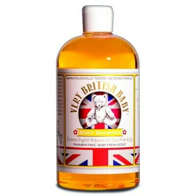 Very British Baby -Baby Shampoo 500ml