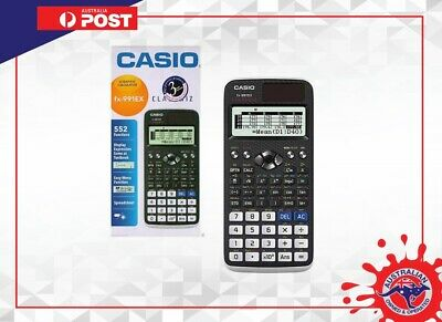Casio FX-991EX ClassWiz Scientific Calculator Spreadsheet 552 Functions Classwiz