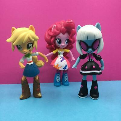My Little Pony Friendship Is Magic Mini Equestria Girls Action Figures Toy x 3