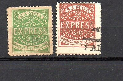 Samoa 1877 , one is damaged (picture)