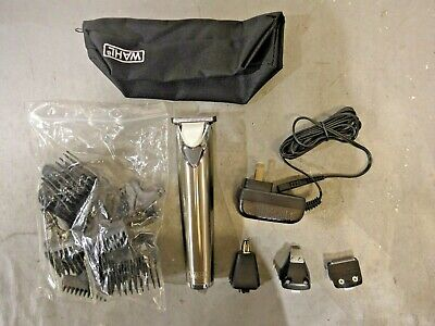 Wahl 9818 Lithium Ion Stainless Steel All-in-One Groomer, #9818 - Silver