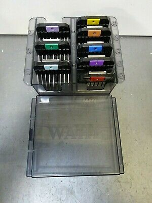 Wahl Professional Stainless Steel Guide Combs #3390-100 - 8 Combs