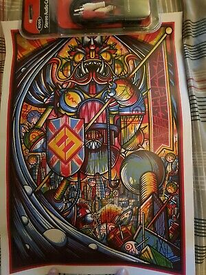 Foo Fighters London Stadium Tour Poster Smaller Version Correct Date