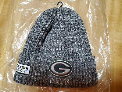Green Bay Packers 2019 Nfl New Era Crucial Catch Knit Hat!