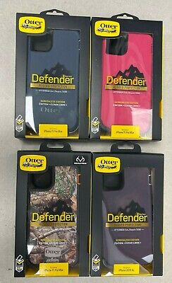 "Apple iPhone 11 Pro Max (6.5"" 2019 XL) OtterBox Defender Series Case NEW OEM"
