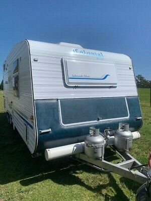 Colonial by Lotus 19Ft Sydneysider Shower Toilet Caravan 2007 Immaculate