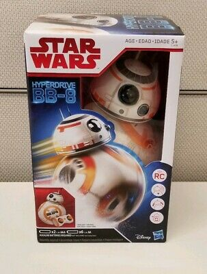 BB-8 Hasbro Star Wars Hyper Drive Hyperdrive Disney Remote Control NEW Sealed!