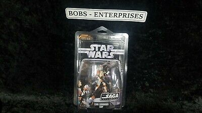 Star Wars The Saga Collection CLONE COMMANDER CODY mint in a case sh-54