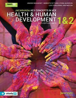 Jacaranda Key Concepts in VCE Health & Human Development Units 1 and 2 by Andrew