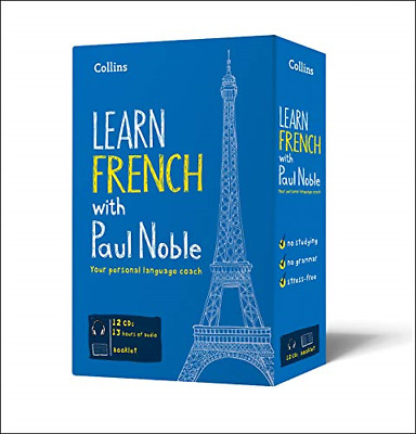 Learn French with Paul Noble, Audio Book, Very Good Condition, Noble, Paul