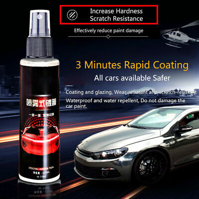Shine Armor Ceramic Spray Coating Car Polish Spray Sealant Nano Protection 100ML