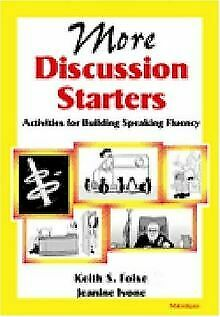 More Discussion Starters: Activities for Building Speaki...   Buch   Zustand gut