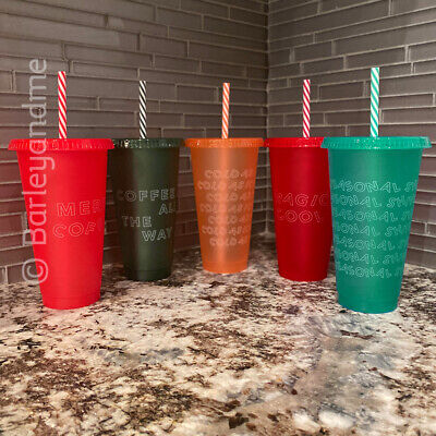 Starbucks 2019 Holiday Christmas Reusable Cold Cups YOU CHOOSE Venti BRAND NEW