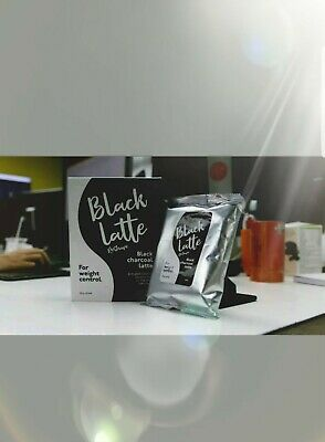 2❌✔Black Latte Dry Drink✔ Black Charcoal Latte For weight control✔100%✔by Hendle