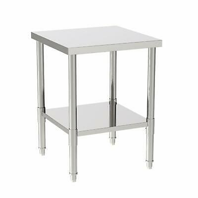 """24""""x24""""x32"""" Commercial Stainless Steel Heavy Duty Food Prep Work Table Kitchen"""