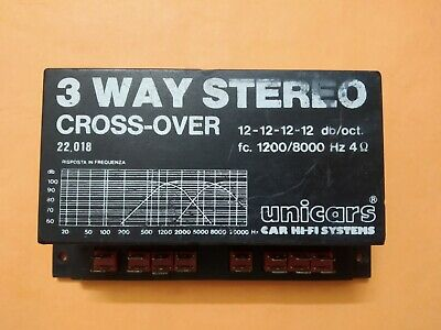 Cross Over 3 Way Stereo System Hi-Fi System Unicars