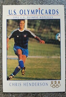 US Olymp Cards Chris Henderson OS 1992 Nr. 67 Trading Card
