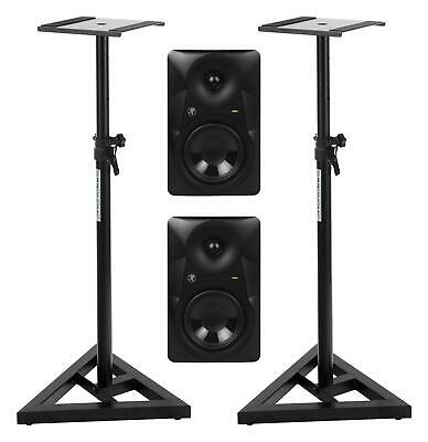 Mackie MR524 Nahfeld Monitor Set Stativ Lautsprecher 50W Aktiv Boxen Studio