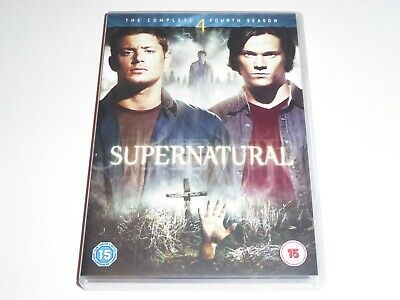 Supernatural - The Complete Fourth Season 4 - GENUINE UK DVD BOX SET Series Four