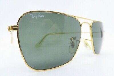 Vintage B&L Ray Ban Caravan sunglasses size 52-16 etched lens made in the USA