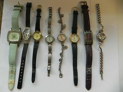 Job lot of Various Watches, all with new batteries,all running well as of 021019