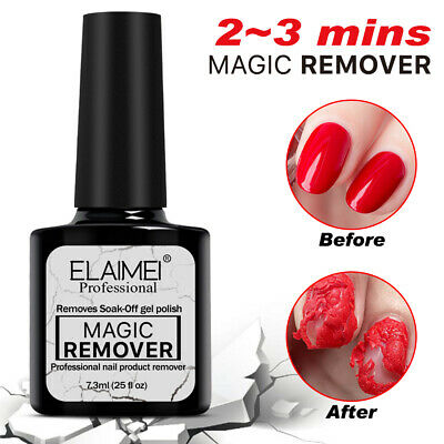 Nail Gel Polish Remover Burst Magic Gel Soak Off Nail Cleaner Nail Art Manicure