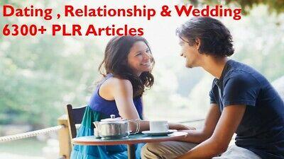Dating ,Relationship & Wedding  6300+ PLR Articles with Bonus 10 Free Ebooks