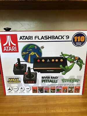 New Atari Flashback 9 Deluxe Game Console 110 Built-In Games