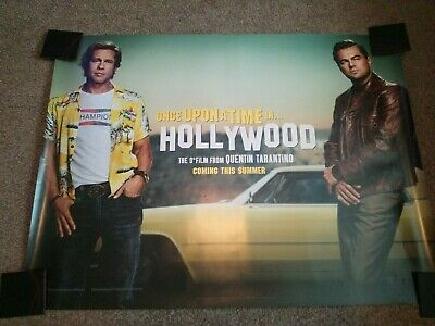 """Once Upon A Time in Hollywood UK Quad""""s"""